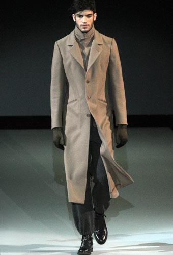 Cappotto da uomo lungo